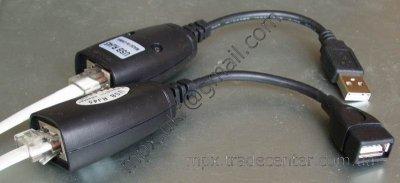 Активный USB удлинитель в сборе.