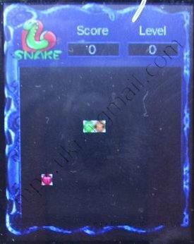 Раздел меню snake в копии ipod нано поколения 5.
