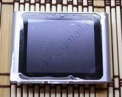Китайский ipod nano 6g серого цвета, вид спереди.