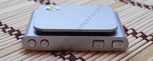 Китайский ipod nano 6g серого цвета, вид сверху.