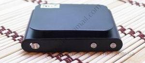 Китайский ipod nano 6g черного цвета (сенсорный), вид сверху.