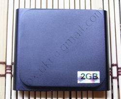 Китайский ipod nano 6g черного цвета (сенсорный), вид сзади.