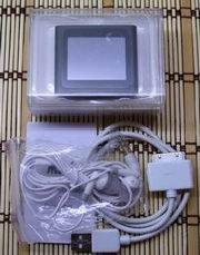 Комплектация китайского ipod nano 6g черного цвета (сенсорный).